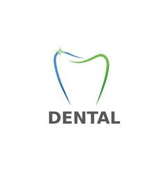 dental design template vector image vector image