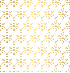 Seamless pattern with gold ornament texture vector
