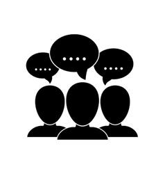 Talk bubble speech vector