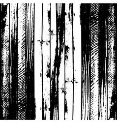 Traced black and white wood grain abstract vector