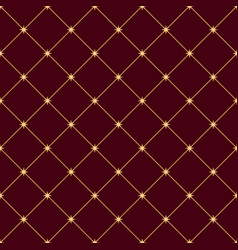 Seamless abstract modern pattern with golden vector