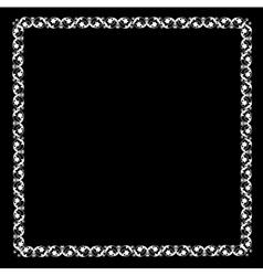 Openwork frame vector image