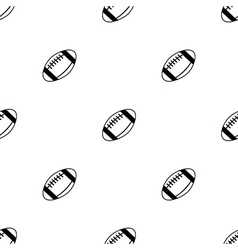 Seamless pattern with balls for football vector