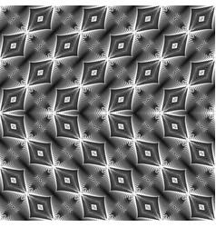 Design seamless monochrome lacy pattern vector