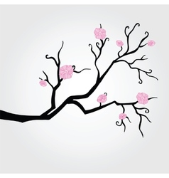 Branch in bloom vector