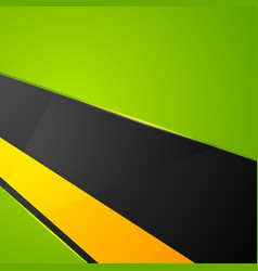 Green orange black abstract corporate background vector