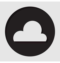 information icon - cloud vector image