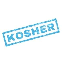 Kosher rubber stamp vector