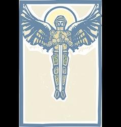 Michael archangel color vector