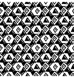 Triangle simple seamless pattern hand drawn vector