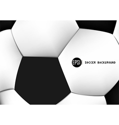 Abstract background of soccer ball pattern design vector