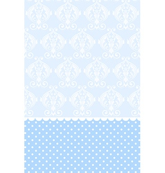 baby blue wallpaper vector image vector image