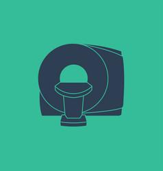 ct scanner machine icon symbol vector image