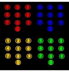 Neon Lights vector image