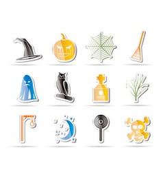 simple halloween icon vector image vector image