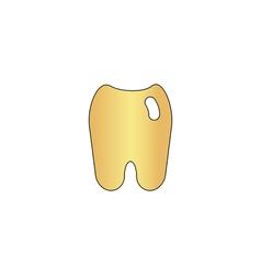 Tooth computer symbol vector