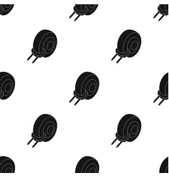 Wheel clamp icon in black style isolated on white vector