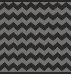 Zig zag chevron black and grey tile pattern vector