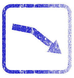 Fail trend framed textured icon vector