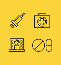 482medical outline icon vector
