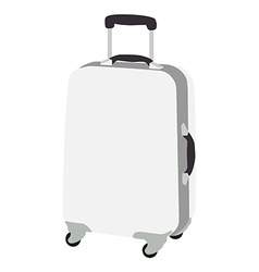 Luggage wheeled vector