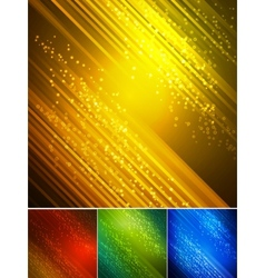 Abstract dark background with light lines vector image vector image
