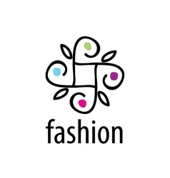 logo fashion vector image vector image