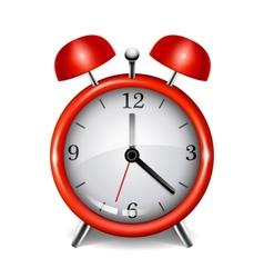 Realistic alarm clock vector image vector image