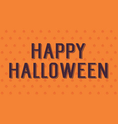Background of halloween style design vector