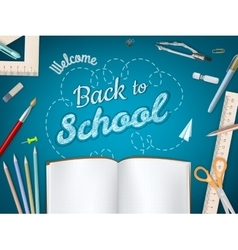 Back to school background eps 10 vector