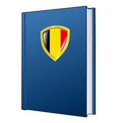 Constitution of belgium vector