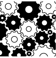 Gear background-mechanical vector