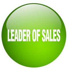 Leader of sales vector