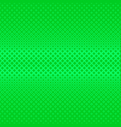 Green geometrical halftone square pattern vector