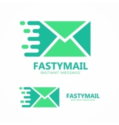 Mail logo or symbol icon vector