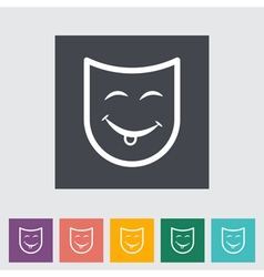 Mask vector image