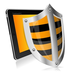 Shield Safety vector image vector image