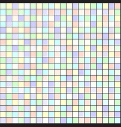 Square pattern seamless tile background vector