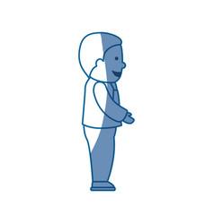 businessman executive cartoon vector image