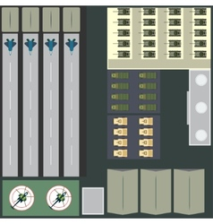 Military base vector