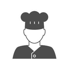 Cook avatar icon vector