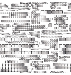 Chrome seamless pattern vector