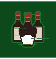 liquor bottle image vector image vector image