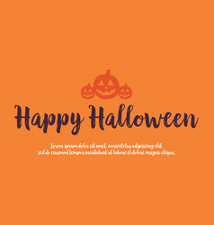 Background style for halloween celebration vector