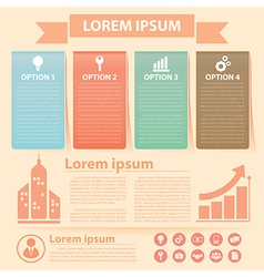 Business infographics banner vector