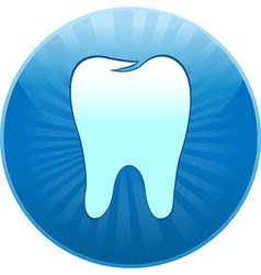 Icon Tooth vector image