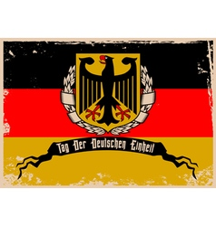 I love germany2 vector