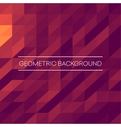 Abstract mosaic background pink purple orange vector