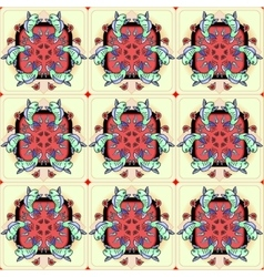 Japan fish pattern vector
