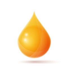 Oil drop logo vector